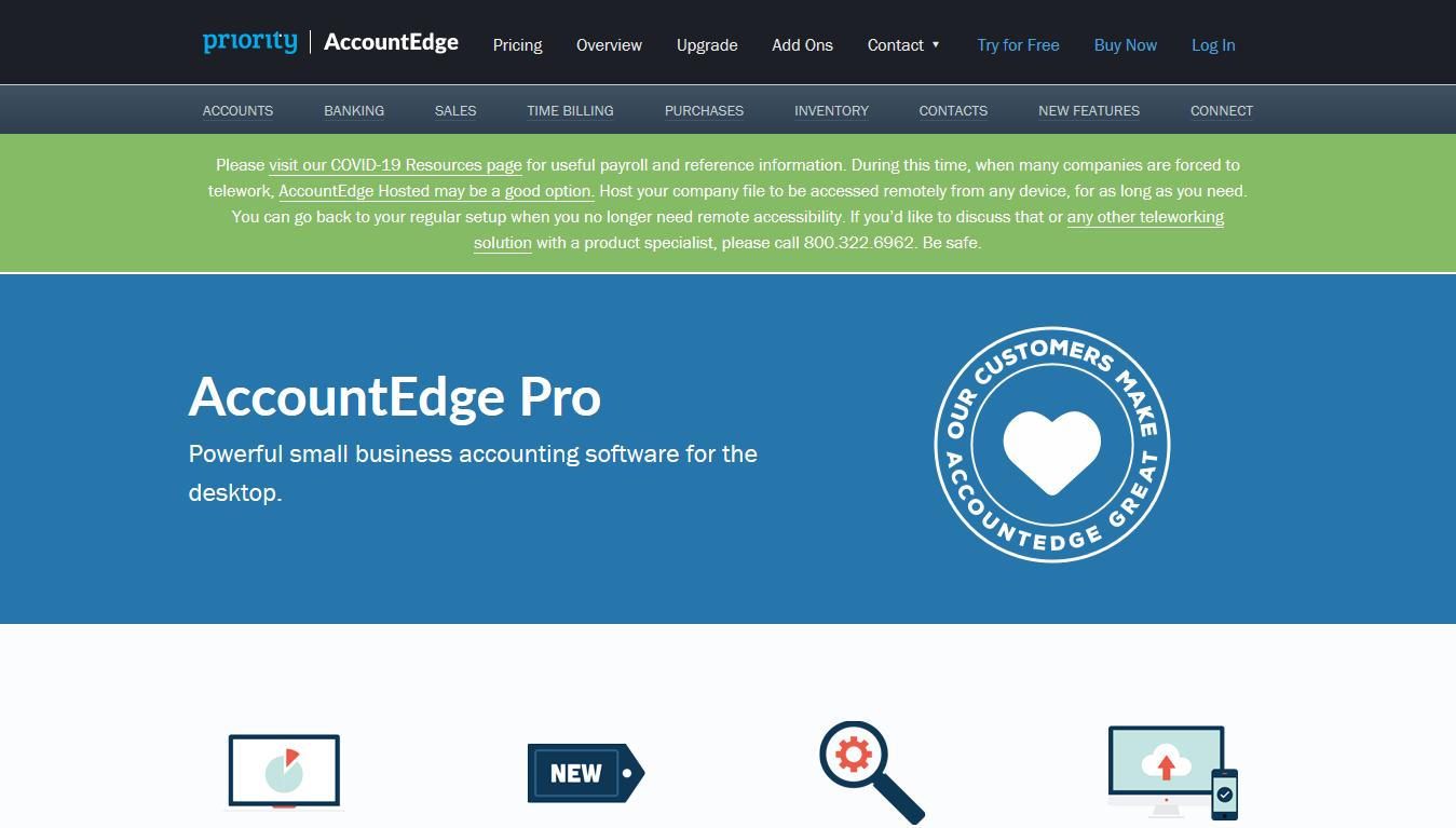 AccountEdge - Home