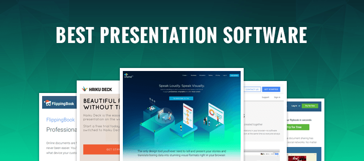 the 10 best presentation software 2019 woofresh