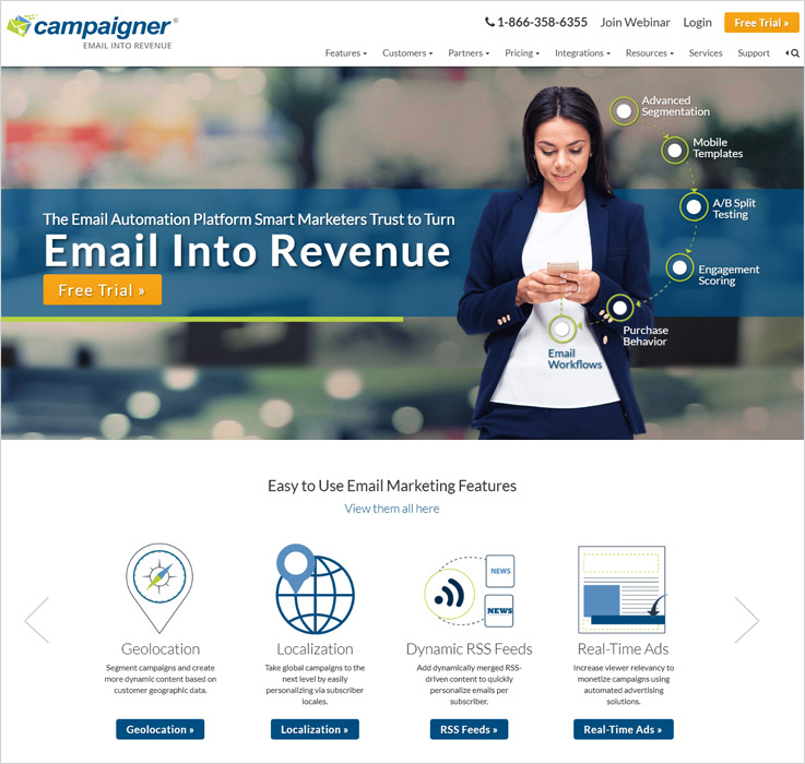 Campaigner Email marketing