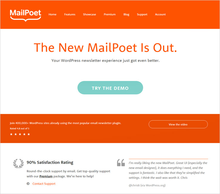 MailPoet Email marketing