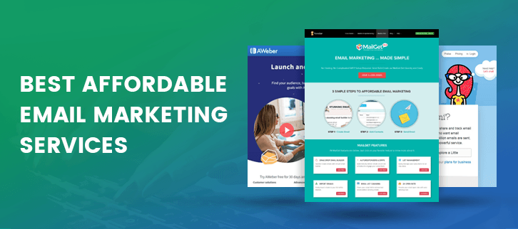10+ Best Affordable Email Marketing Services & Software