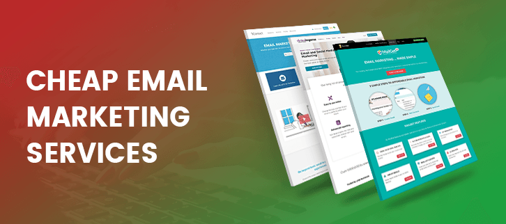 10+ Best Cheap Email Marketing Services & Software