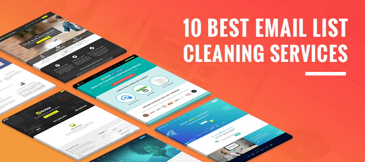 10 Best Email List Cleaning Services & Softwares