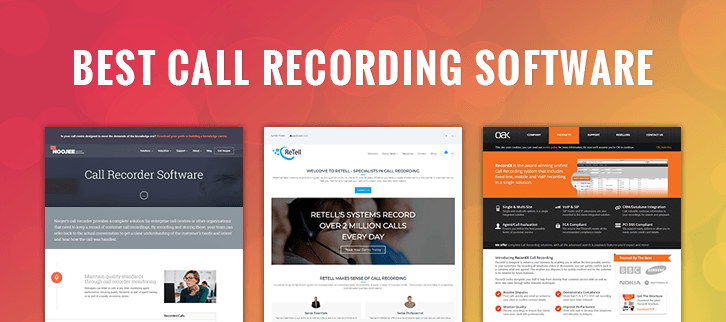The 10 Best Call Recording Software