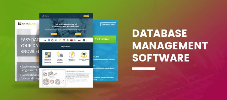 The 10 Best Database Management Software