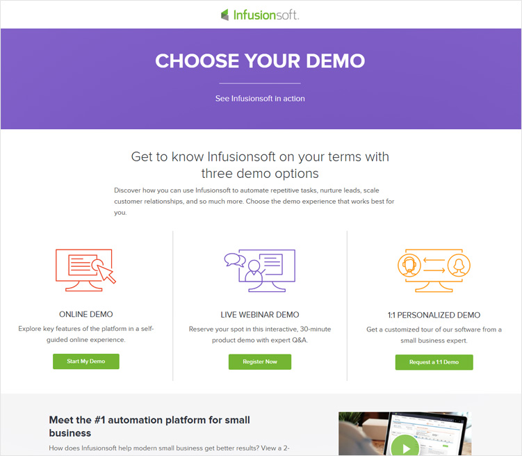 InfusionSoft Bulk Email Marketing Service