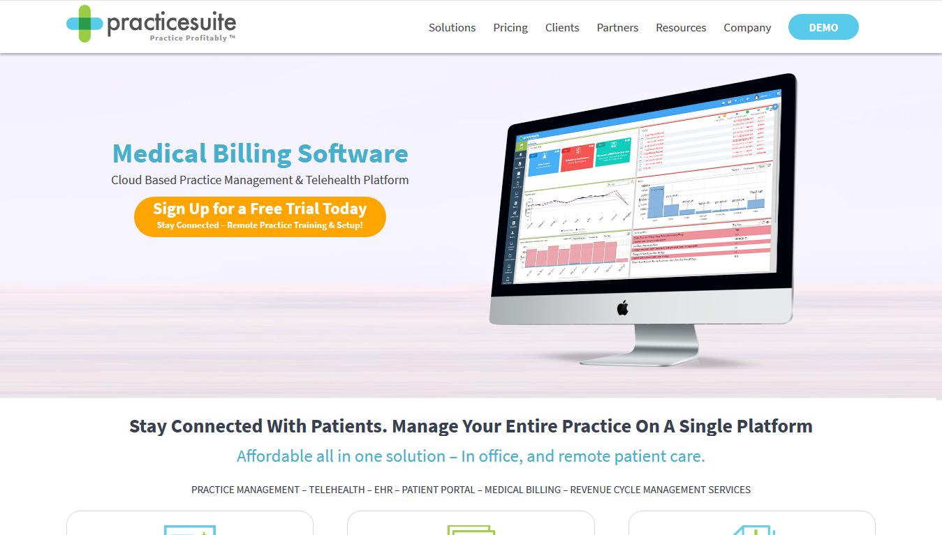 PracticeSuite - Home