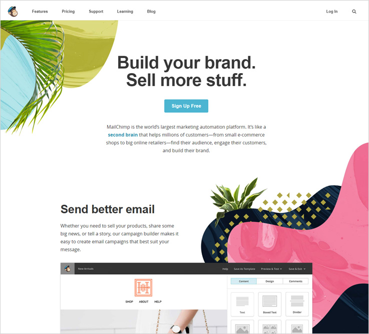 mailchimp free email marketing