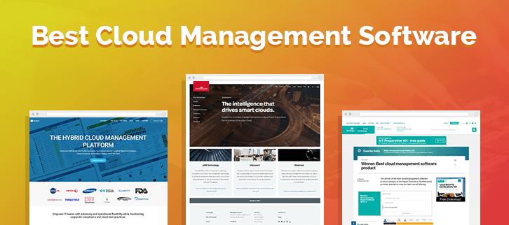 The 10 Best Cloud Management Software
