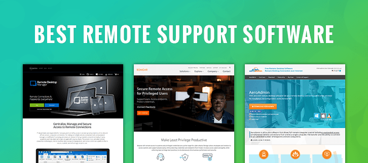 The 10 Best Remote Support Software