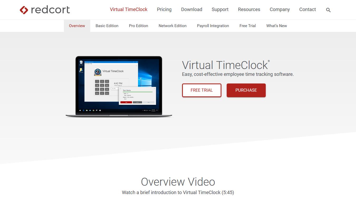 VirtualTimeClock - Home