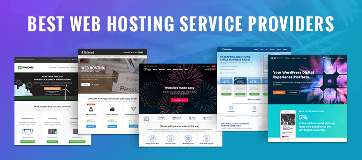 The Best Web Hosting Service Providers