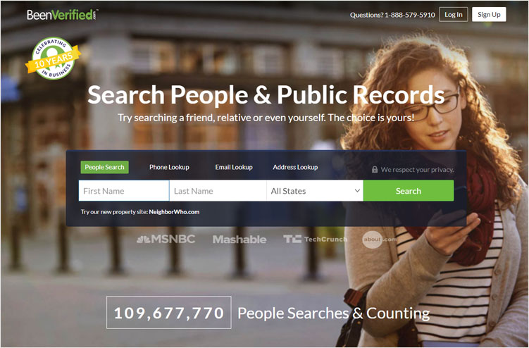 Search Social Profiles & Lead Enrichment Tool by BeenVerified
