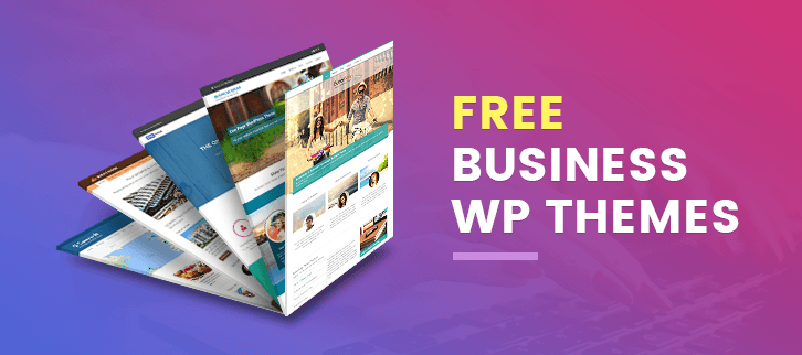 5+ Free Business WordPress Themes 2018