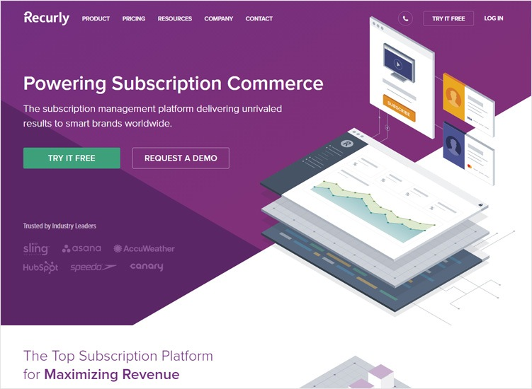 recurly- Subscription Management Software