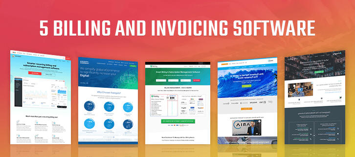 5+ Online Invoice Billing Software [Subscription Business]