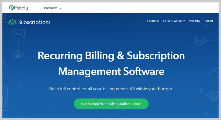 Pabbly Subscriptions Invoice Billing Software