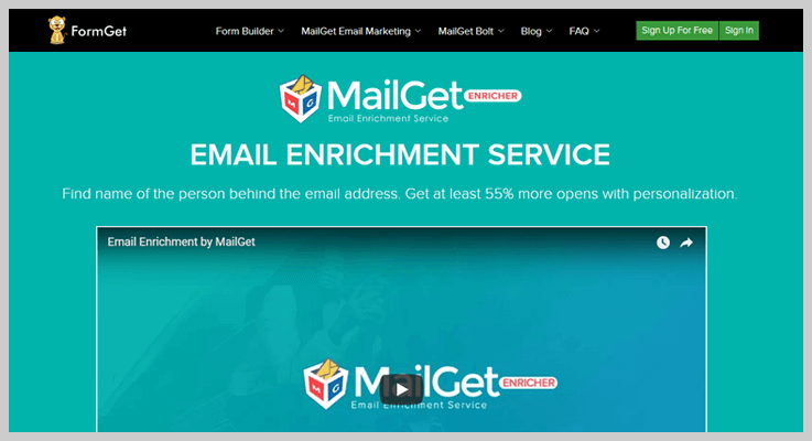 MailGet Enricher Email Enrichment Tool