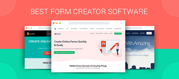 5+ Form Creator Software | Create Eye-Catchy Form In Few Clicks