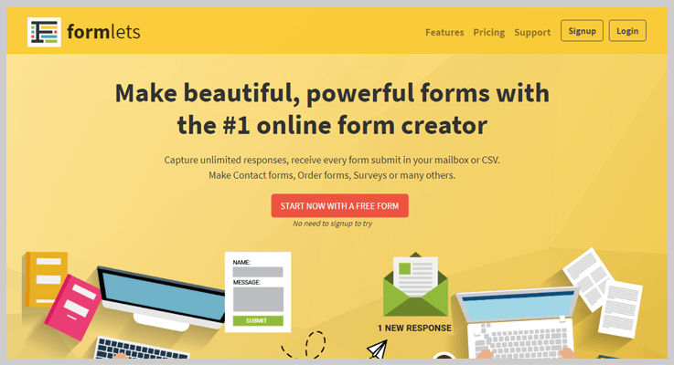 Formlets Form Creator Software