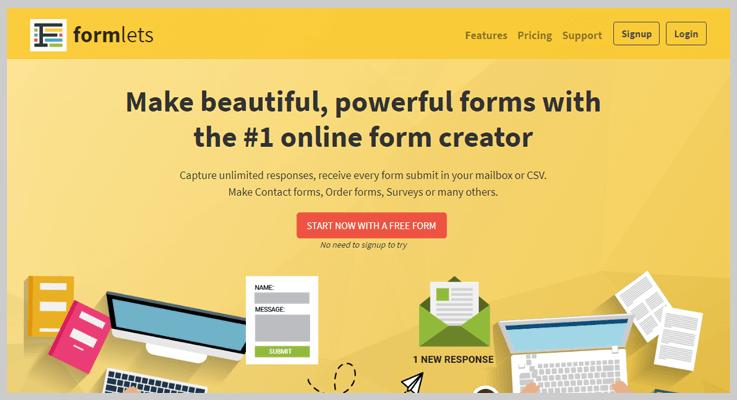 Formlets Online Form Builder