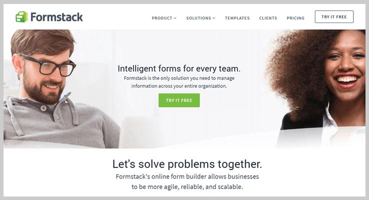 Formstack Online Form Builder