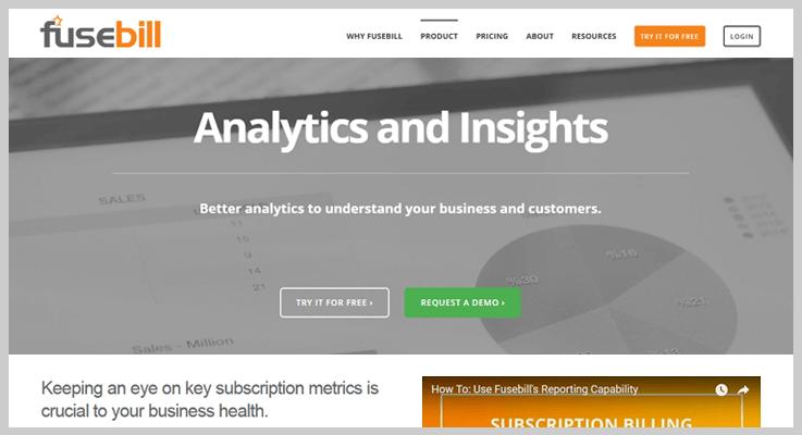 Fusebill PayPal Analytics Tools