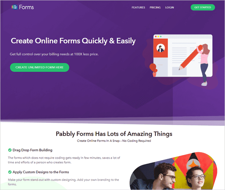 Pabbly Forms Web Form Builder