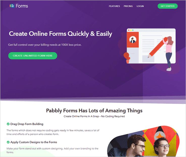 Pabbly Online Form Builder