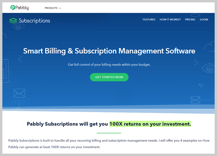 Pabbly Subscription