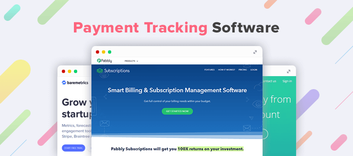 6 Payment Tracking Software : Reach Your Payoff In Detail @ $99