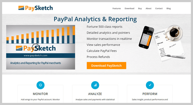 PaySketch: Best Payment Analytic Tool