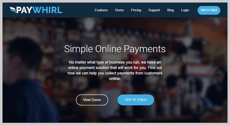 PayWhril Payments Tracking Software