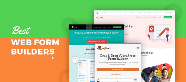 5+ Web Form Builders | Collect Payments & Lead Information