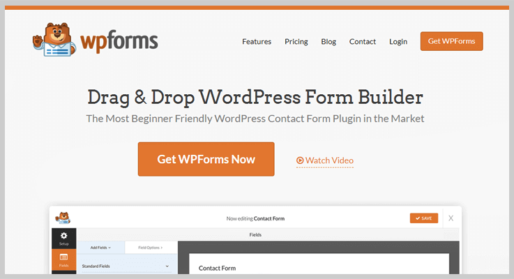 WP Forms Web Form Builder