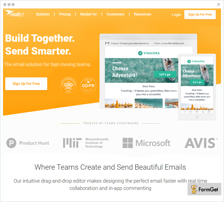 Mailjet - Benchmark Email Alternatives
