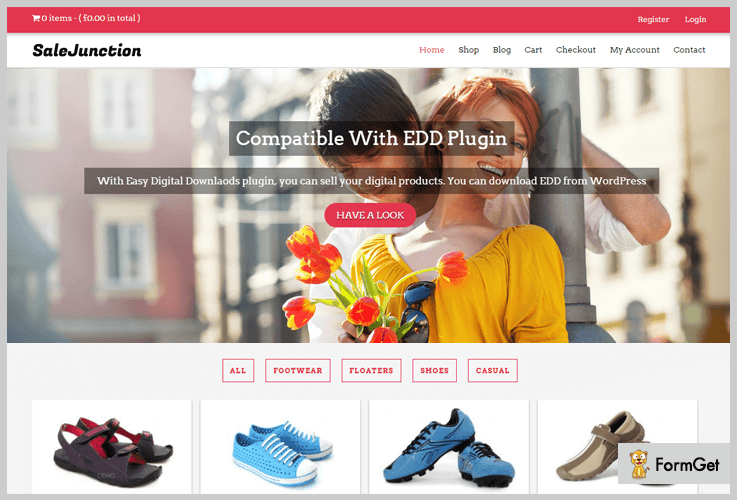 Salejunction Best Shop WordPress Themes