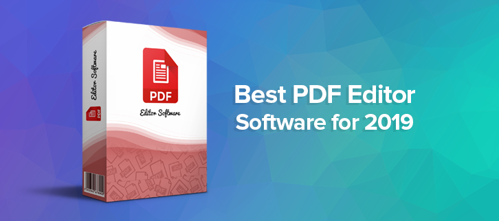 10 Best PDF Editor Software for 2019