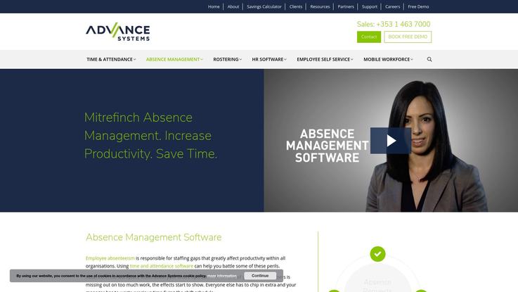 Advance Systems Absence Management Software
