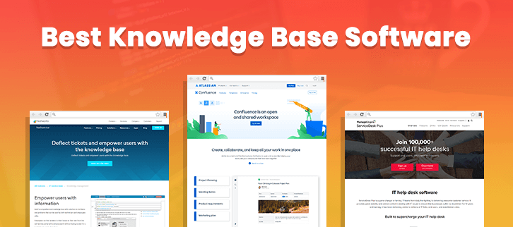 9 Best Knowledge Base Software 2020 (With Pricing)