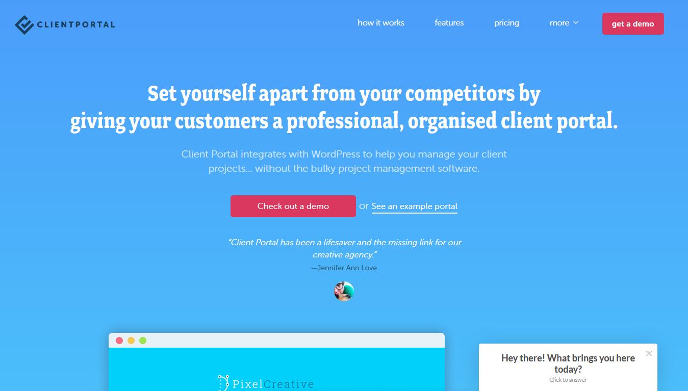 ClientPortal - Home
