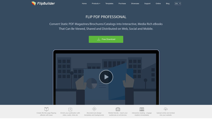 Flipbuilder Flipbook Software