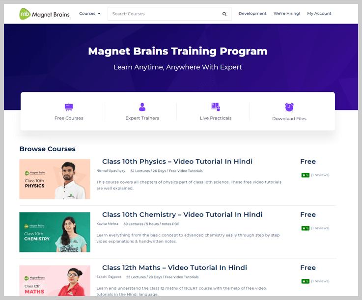 Mangnet Brains - Online Education Platforms
