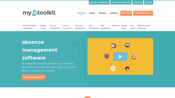 Myhrtoolkit Absence Management Software