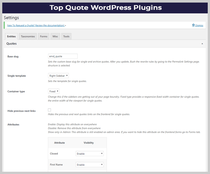 Quote WordPress Plugins