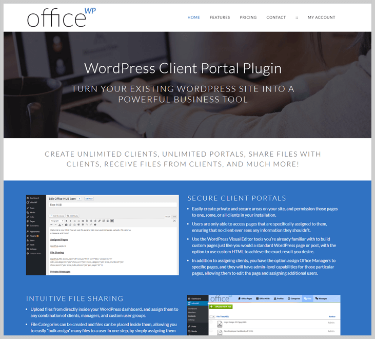 OfficeWP - Client Portal WordPress Plugin