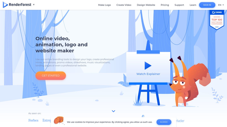 9 Best Logo Animation Software 2019 Build Professional Logo Woofresh