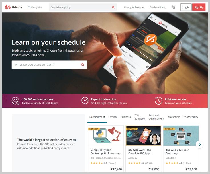 Udemy - Online Education Platforms