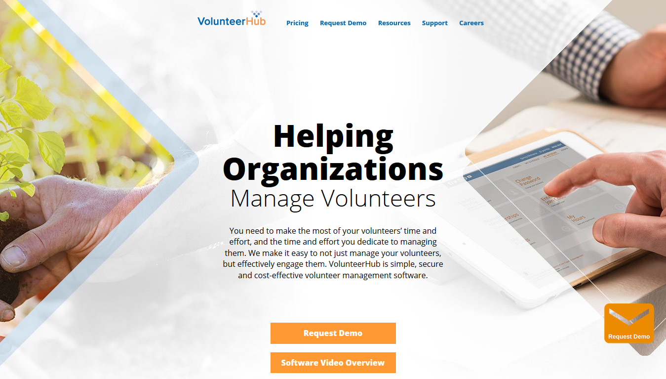 VolunteerHub - Home