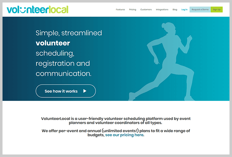 VolunteerLocal Volunteer Management Software 1